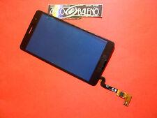 VETRO +TOUCH SCREEN per LG BELLO 2 X150 NERO PER DISPLAY LCD RICAMBIO NUOVO FLEX