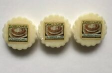 Yankee Candle GINGERBREAD MAPLE TARTS WAX MELTS X 3 HTF  SCENT