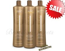 BRASIL CACAU Eco BRAZILIAN KERATIN TREATMENT BLOW DRY HAIR STRAIGHTENING 1L KIT