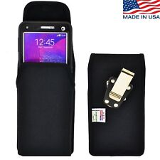 Turtleback Galaxy Note 4 Nylon Pouch Holster Case Metal Belt Clip For Otterbox