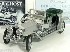 Franklin Mint Rolls Royce Silver Ghost 1907 Karosserieteile versilbert! 1:24