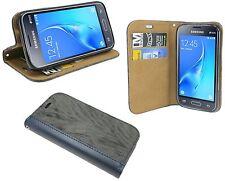 Zubehör Brief Tasche-Form für Samsung Galaxy J1 Mini 2016 ( J105H ) // Anthrazit