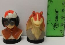 2 Star Wars Mini Busts Anakin Skywalker Jar Jar Binks 1999 LFL