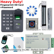 Fingerprint+RFID Card+Password Door Access Control System+Magnetic Lock+Remote