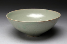 Korean Goryeo Dynasty Celadon Bowl / W 17.1× H 7.2[cm]