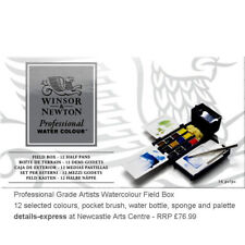 Winsor & Newton Professional Artists Quality Watercolour Pocket Field Box Set