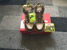 Nike Dunk High Shrek  (NEW) (DS)