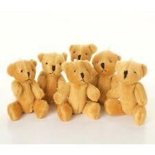 NEW - 30 X Brown Teddy Bears - Small Cute Cuddly Adorable - Gift Present