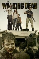 THE WALKING DEAD ~ WINNEBAGO ATTACK 24x36 TV POSTER Zombies AMC Andrew Lincoln