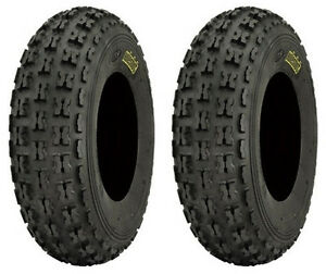 Pair 2 ITP Holeshot XC 22x7-10 ATV Tire Set 22x7x10 22-7-10