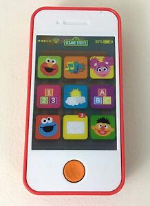 Sesame Street Elmo & Friends Smartphone Playskool Friends Lights Sounds Cell Toy