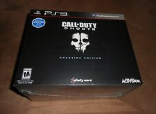 Call of Duty: Ghosts Prestige Edition *Brand New* PS3 (Sony Playstation 3, 2013)
