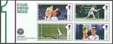Great Britain 2013 1St Class Sporting Success Andy Murray Souvenir Sheet Mint Nh