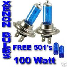 PEUGEOT 206 & CC 207 306 ultra xenon ampoules h7 100w