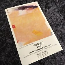 Original 1996 SF Gallery 5x8 Poster Ad Abstract Vintage Lithograph Print Card LE