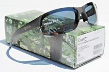SMITH OPTICS Envoy POLARIZED Sunglasses Matte Black/Platinum ChromaPop NEW $189