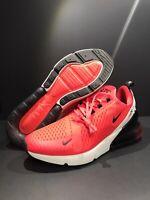 Men's New Nike Air Max 270 Black Red Orbit Running Shoes BV6078-600 SZ 11.5