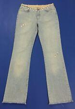 Liu jo jeans donna bootcut zampa vintage usato w31 tg 44 45 svasato denim T2389