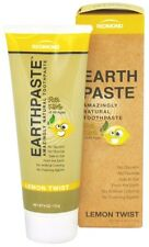 Redmond Clay Trading EARTHPASTE  Natural Toothpaste Lemon Twist, 4 oz NO FLORIDE