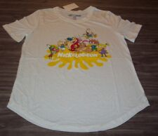 WOMEN'S TEEN  NICKELODEON REN & STIMPY INVADER ZIM RUGRATS T-shirt XS NEW