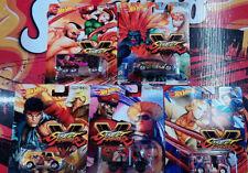 Hot Wheels Pop Culture Capcom Street Fighters Choise/Choix lot ou unité (NG13)