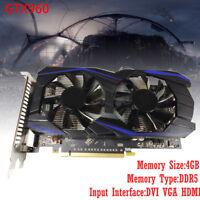 Für NVIDIA GeForce GTX 960 4GB DDR5 PCI Express HDMI VGA DVI Video Grafikkarte