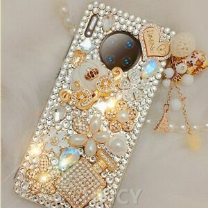 Luxury Bling Diamonds Soft Phone Cases  For Xiaomi Redmi note 8 8A 8T 9 10X Pro