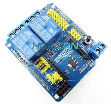 5V Two 2 Channel Relay Module Shield Module XBee BTBee Expansion Board Arduino