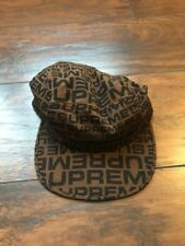 Supreme Repeater Camp Cap Brown New SS18 100% Authentic