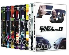 FAST AND FURIOUS COLLECTION 8 FILM (8 DVD) con Vin Diesel, Paul Walker