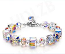 """A Little Romance"" Crystal Bracelet Series, Made with Swarovski / Czech Crystals"