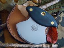 Knives of Alaska Magnum Ulu Skinning Hunting Knife Suregrip Deer Elk Big Game