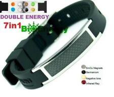 Potenza di energia magnetica Anioni Bracciale della salute 7in1 Bio germanio bracciale Band