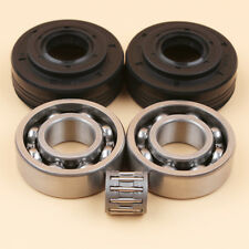 Crankshaft Bearing & Oil Seals Fit Husqvarna 340 345 350 Jonsered 2145 503932302