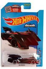 2015 Hot Wheels #63 HW City Batman Batmobile black-red