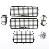TRX4 T4 Metal Window Mesh Protective Net for 1/10 RC Crawler Car Traxxas Trx-4BB