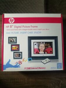 """HP - df820a2 : 8"""" Digital Picture Frame with 512MB Internal Memory"""