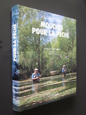 MOUCHES POUR LA PECHE RAFAEL DEL POZO OBESO éditions LAROUSSE