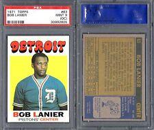 PSA 9 (OC) 1971-72 Topps #63 Bob Lanier RC POP26 Detroit Pistons G00 1220