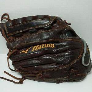 """Mizuno Franchise GFN1253 12.5"""" Leather Fast Pitch Softball Glove Left Hand"""