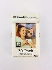 Polaroid 2x3ʺ Premium ZINK Zero Photo Paper 30-Pack