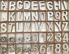 135 Buchstaben Zahlen Figuren in Holzbox BOX Holzkiste Holzbuchstaben Holz 132