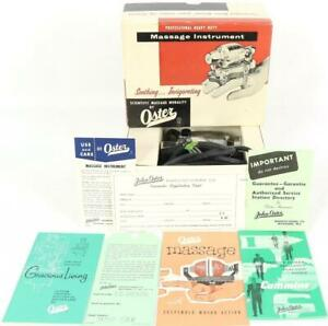 Vintage Oster M1 Scientific Massage Modality Handheld Massager New Old Stock