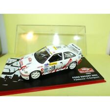 FORD ESCORT WRC RALLYE MONTE CARLO 1999 F. DELECOUR ALTAYA 1:43 4ème