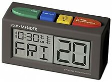 Medicine Alarm - Reminder Clock with Ac Adapter Pills Medication Health Doctor