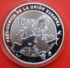 Spain-Spanien: 10 Euro 2002, Silber, Proof-PP, KM# 1048,  #F 1882