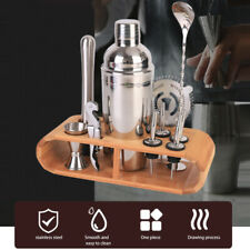 12Pcs/Set Cocktail Shaker Set, Bartender Kit Stainless Steel Bartending Kit