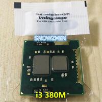 Intel Core CPU i3-380M Dual-Core 2.5GHz/3M SLBZX Socket G1 Laptop Processor