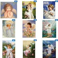 Diy 5D Angel Girl Diamond Painting Full Drill Embroidery Kits Art Decors krtycd
