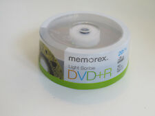 Memorex LIGHT SCRIBE 16x DVD+R 20-Count Spindle Pack NEW Sealed